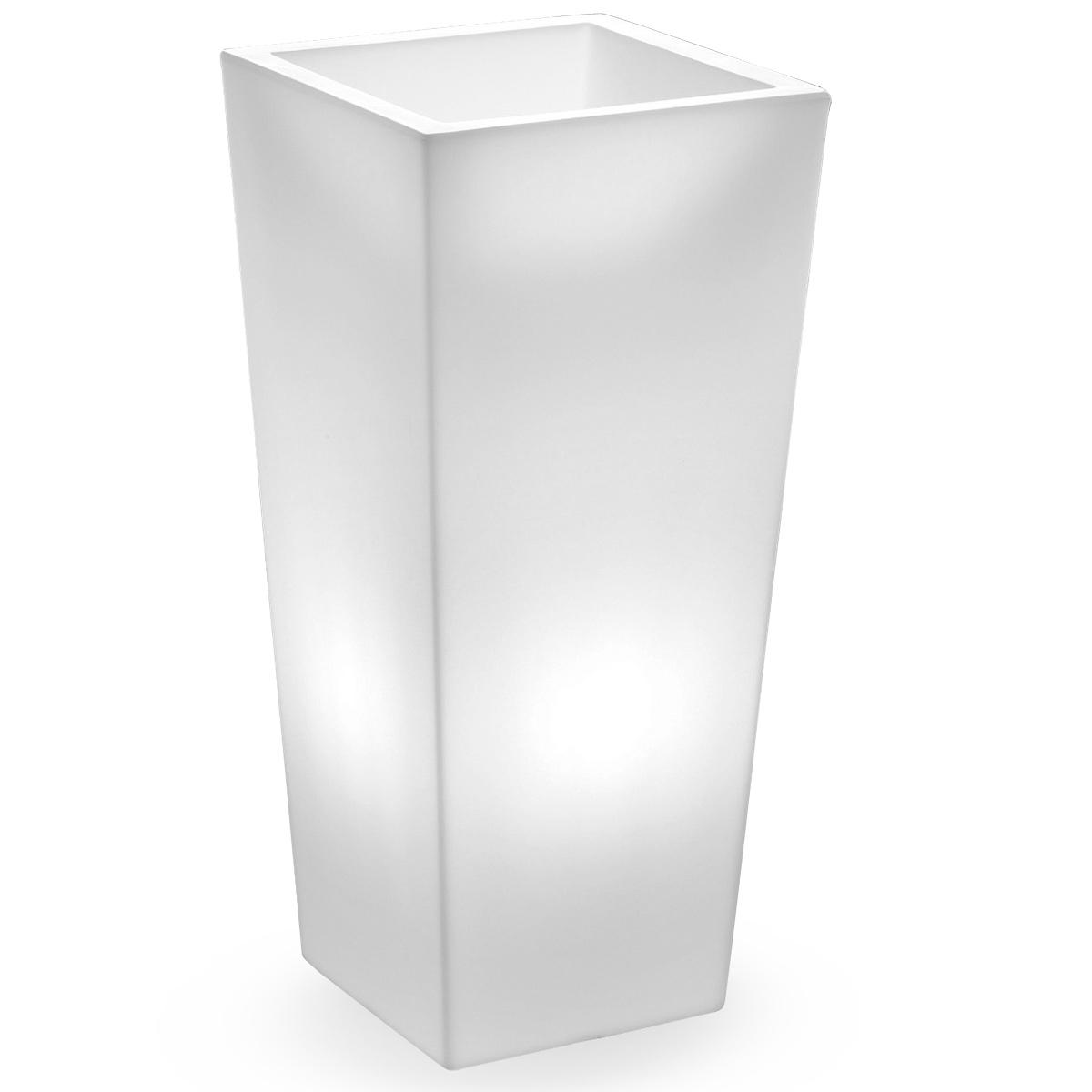 cache pot genesis carr lumineux lyxo. Black Bedroom Furniture Sets. Home Design Ideas